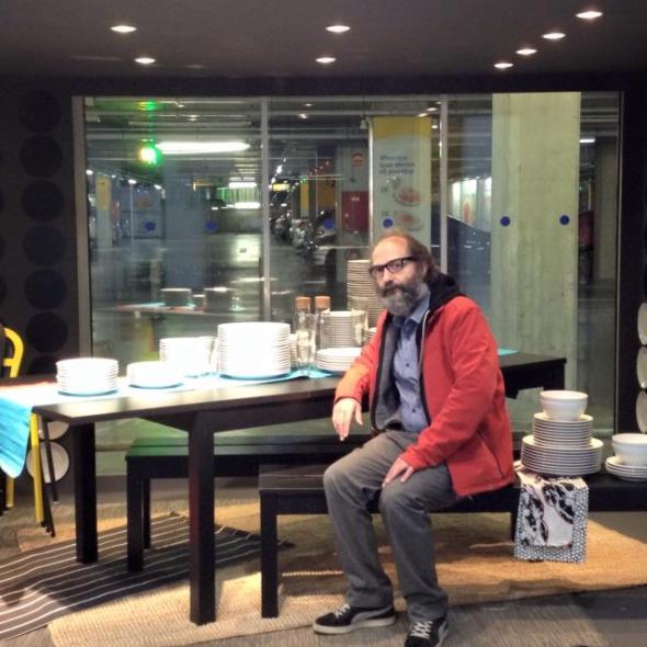 Claudio Pato subterráneo Ikea
