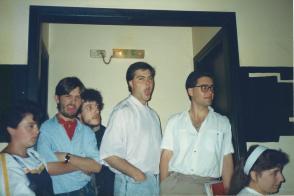 Colectivo Ronseltz recital 1989 2