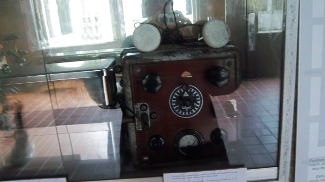 Máquina de electrochoque